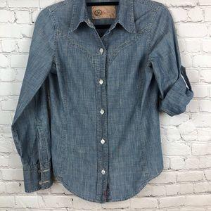 Chambrays Shirt 1969 Gap Limitied Edition Sz Small